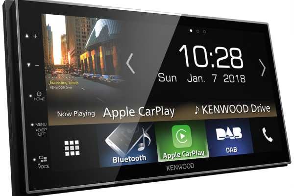Smartphone Control at your Fingertips, Kenwood DMX7018DABS