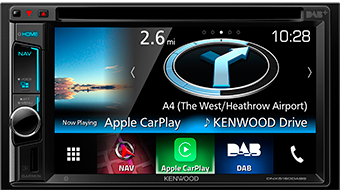 DNX5160DABS CarPlay System