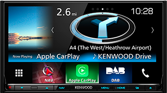 DNX8160DABS CarPlay System
