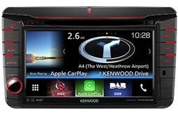 DNX516DABS Kenwood CarPlay & Android Auto DAB Navigation System