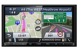 DNX8170DABS Kenwood CarPlay & Android Auto DAB Navigation System
