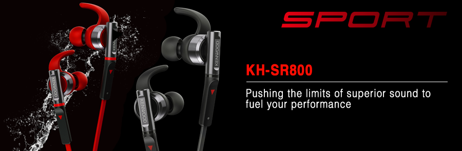 KH-SR900 In-ear waterproof headphones